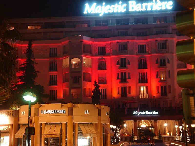 Hotel Majestic Barrière Cannes