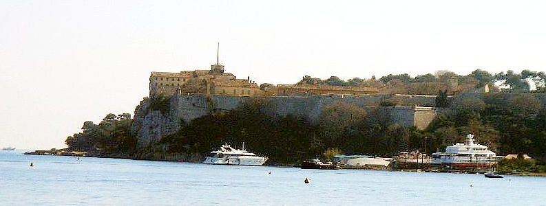 Le Fort Royal ou fort Vauban sur l'île St-Marguerite