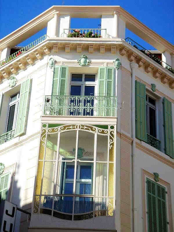 immeuble  rue d'Antibes Cannes